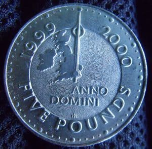 Need 2000 Loan 5 pound coin made for year 2000