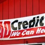 4000 Loan Bad Credit we can help banner on shed