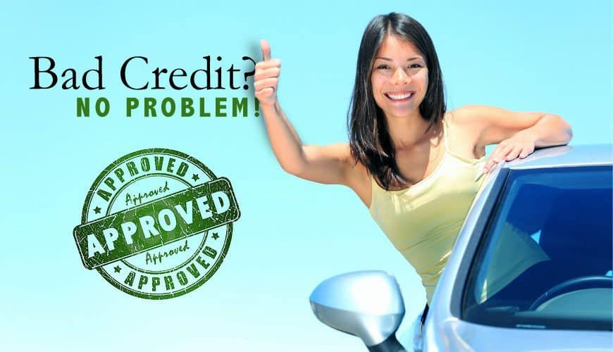 Leased Finance and Loans girl leaning out of car window thumbs up