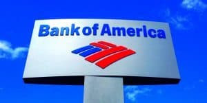 Bank Of America Online Payments sign