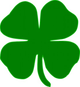 Bad Credit Ireland 4 leaf irish shamrock clover